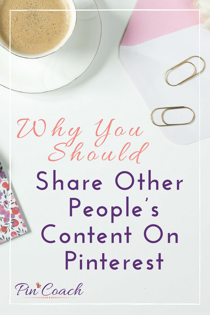 Learn more about why sharing curated content on Pinterest is important. By curating content, you can build more engagement on your brand's Pinterest account and drive more traffic to your content, products, or services. Read the Pin Coach blog to learn more. | #PinterestTips #PinterestMarketing #ContentMarketing